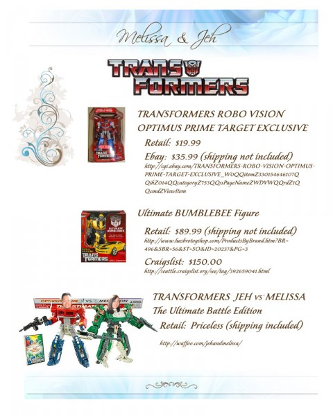 Jeh Prime vs' Melissa-Tron
