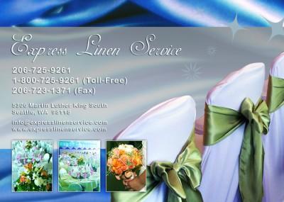Express Linen Service - Postcard