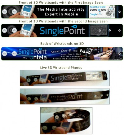 SinglePoint CTIA Conference 2008 - Marketing Materials - Las Vegas, NV