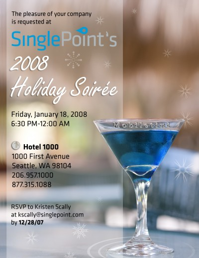 SinglePoint Holiday Party