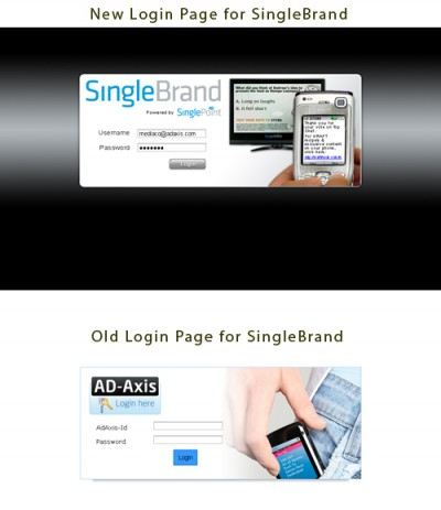 SinglePoint Product Redesign - SingleBrand