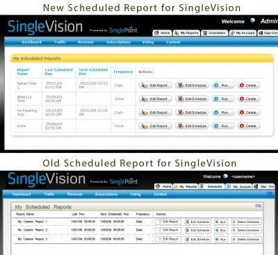 SinglePoint Product Redesign - SingleVision